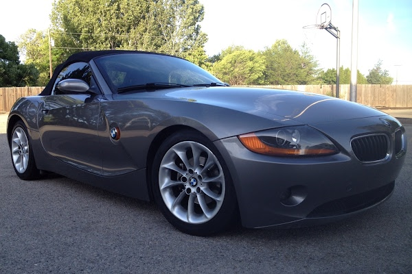 Rent A Sterling Gray Metallic Bmw Z4 In San Francisco