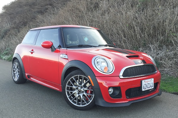 Red Mini Cooper Black Stripes Red With Black Racing Stripes